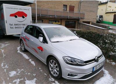 Golf 7 - Automatik mit Anhänger - Fahrschule Volker Kleber